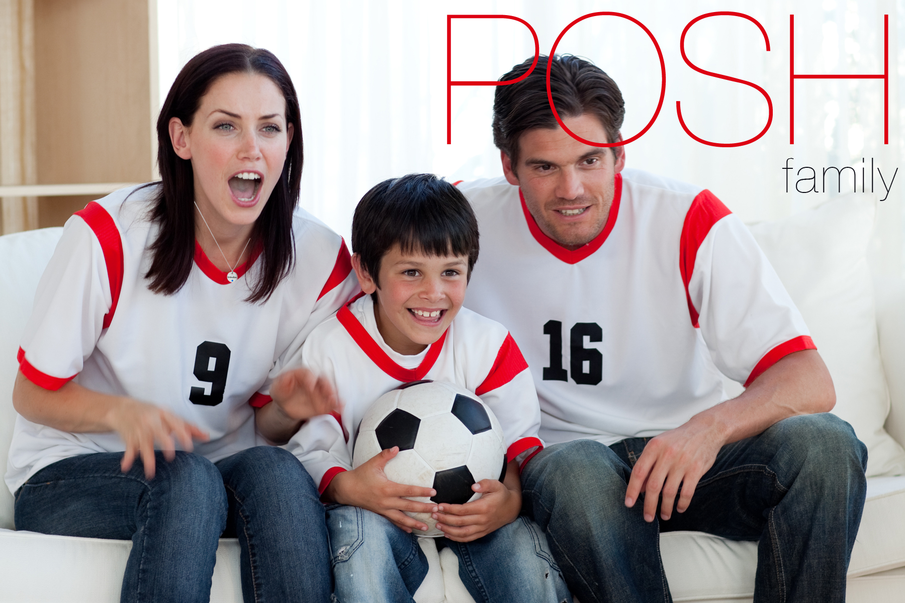 Family Watching Soccer