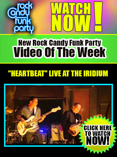 Give your body some funk. New Rock Candy Funk Party video of the week 'Heartbeat'. Click here to watch now!