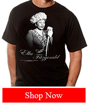 Tribut Apparel - ELLA FITZGERALD - SINGING (MEN)