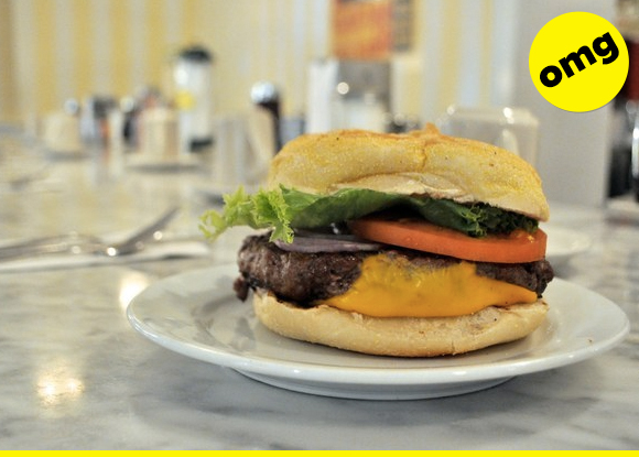 your burger, now 100% more delicious! (you're welcome!)