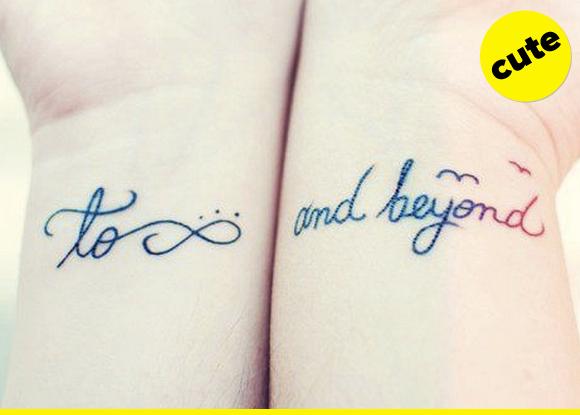 BFF tattoo.