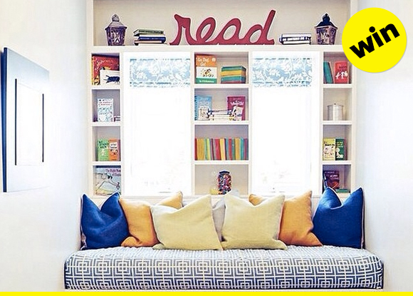 now THAT is a reading nook