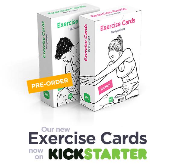 Exercise Cards on Kickstarter