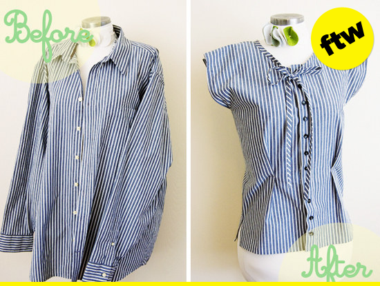 Upcycle that shirt.