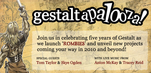 Gestaltapalooza - Celebrating five years of Gestalt!