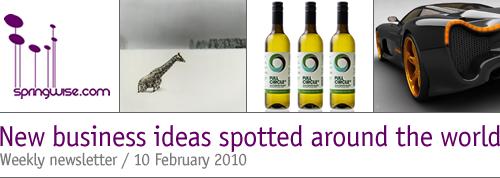 Springwise newsletter   New business ideas for entrepreneurial  minds
