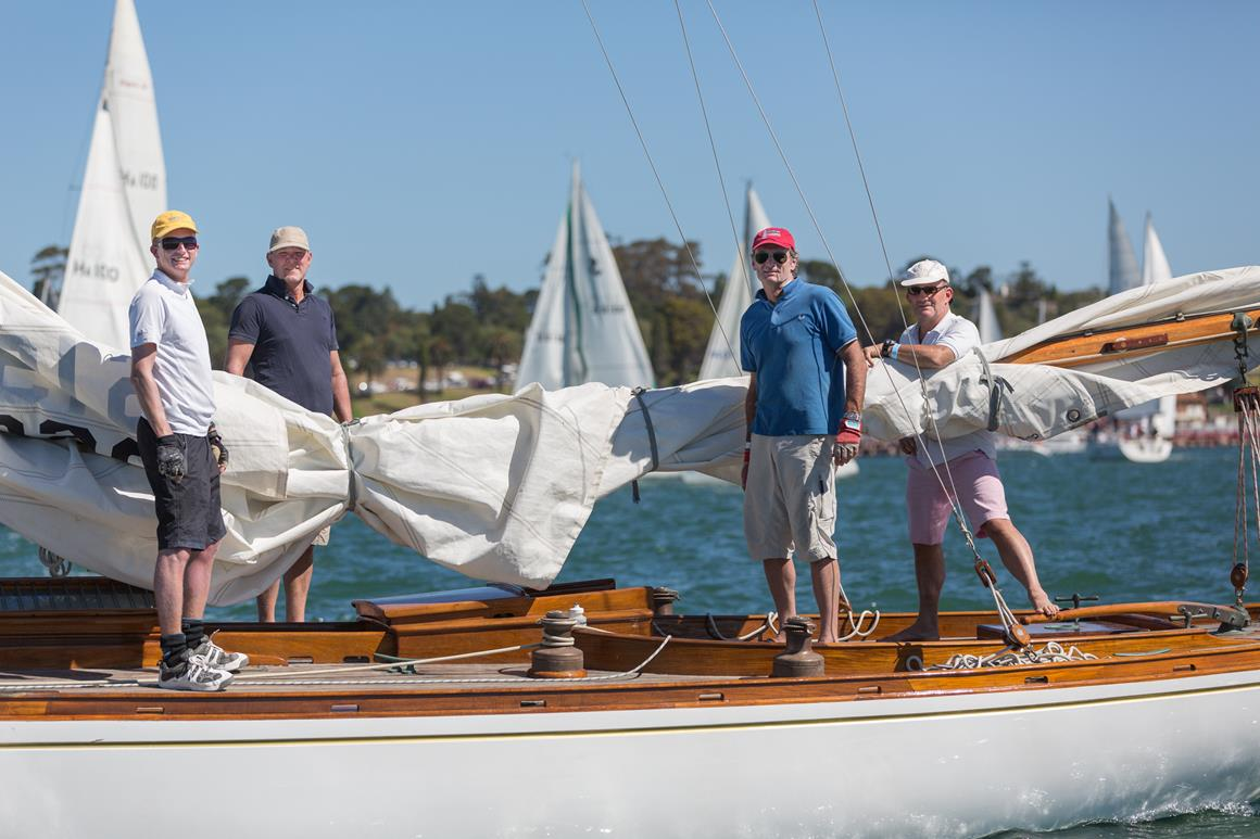 2014 Festival of Sails - Classic Yacht Series. Image: Guido Brandt
